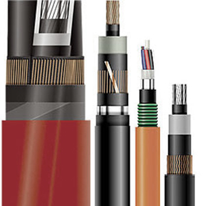 Copper or Aluminum Insulated cables for EHV, HV, MV and LV